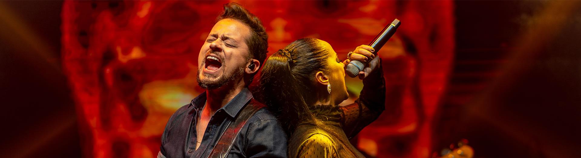 Parceria Shirley Oliveira e Rodrigo Falcão